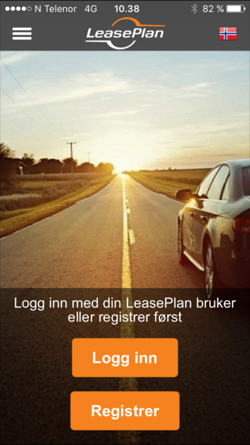 Ny LeasePlan-app for sjåfører