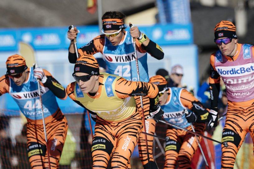 Team LeasePlan Go med den beste og den yngste skiløperen i Visma Ski Classics 2016